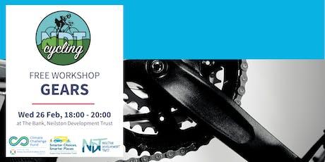 FREE Bike Maintenance Workshop - Gears (NDT) tickets