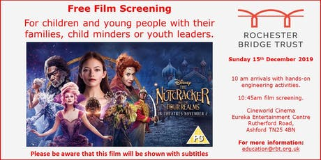 """Free Film Screening of """"The Nutcracker and the 4 Realms"""" tickets"""