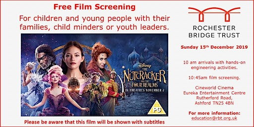 "Free Film Screening of ""The Nutcracker and the 4 Realms"""