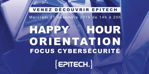 Happy Hour Orientation / Focus Cybersécurité