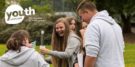 Youth Scotland Awards Portfolio Building Training tickets