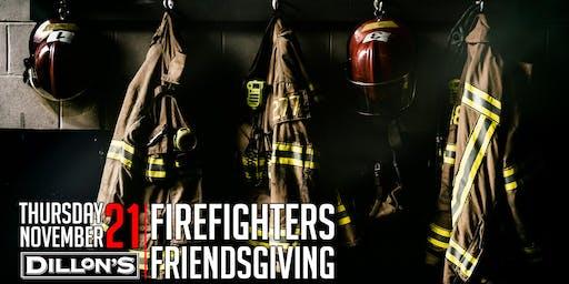 Firefighters Friendsgiving