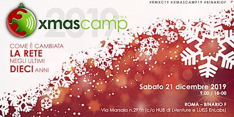 ROMA XMASCAMP 2019  biglietti