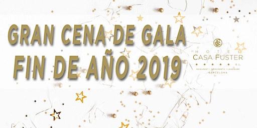 GRAN CENA DE GALA DE FIN DE AÑO 2019 / NEW YEARS EVE GRAND GALA DINNER 2019