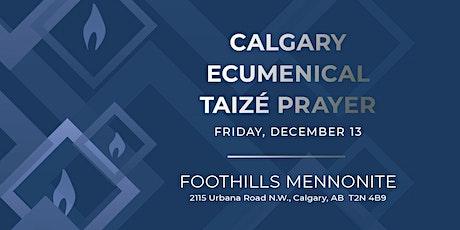 Taize YYC - Calgary Ecumenical Taize Prayer tickets