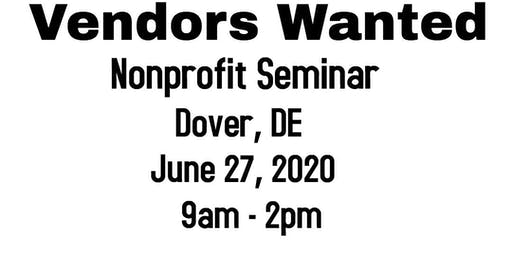 Vendors Wanted - Dover DE