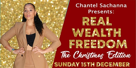 REAL WEALTH FREEDOM: The Christmas Edition tickets