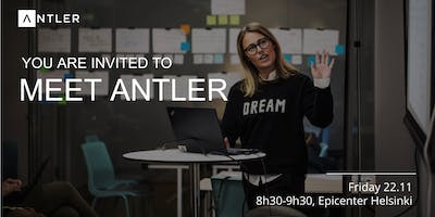 Meet Antler in Helsinki | Fri. Nov. 22th