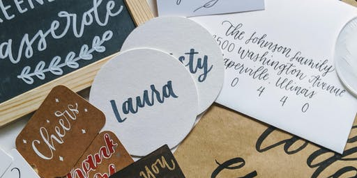 Intro to Brush Lettering: Holiday Edition