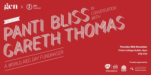 Panti Bliss in conversation with Gareth Thomas: A World AIDS day Fundraiser