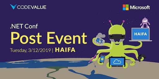 .NET Conf – Post Event Haifa