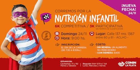 Maratón CONIN La Plata 2019 - Corremos por la Nutrición Infantil entradas