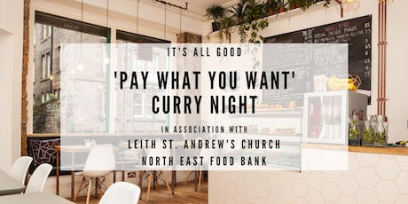 'Pay What You Want' Curry Night Fundraiser tickets
