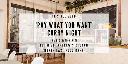 'Pay What You Want' Curry Night Fundraiser