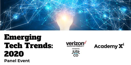 Emerging Tech Trends for 2020 tickets
