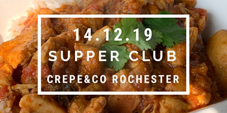 Bhaji Bhaji Indian Supper Club at Crepe and Co tickets