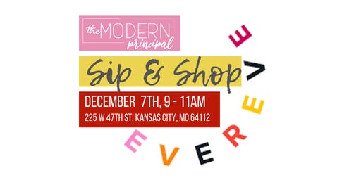 Evereve Sip & Shop with The Modern Principals