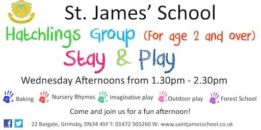 St. James School Hatchlings Over 2's Group
