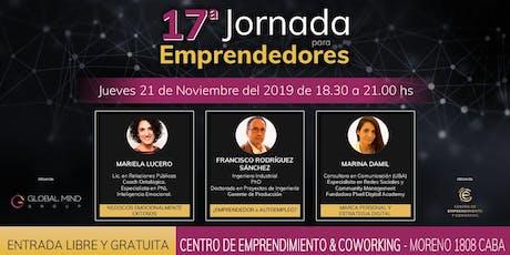 17° Jornada para Emprendedores entradas