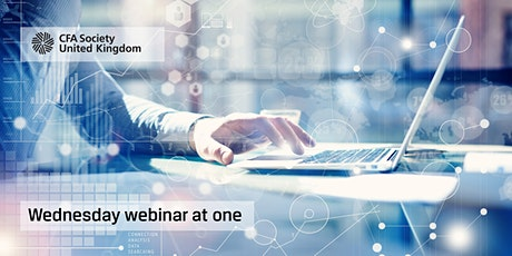 Wednesday webinar at one: Leadership: Productivity and the bonus culture tickets