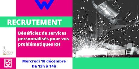 Recrutement : Bénéficiez de services personnalisés RH billets