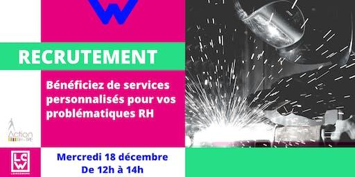 Recrutement : Bénéficiez de services personnalisés RH
