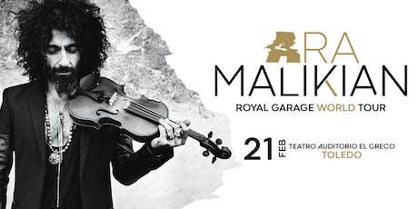 Ara Malikian en Toledo - Royal Garage World Tour entradas