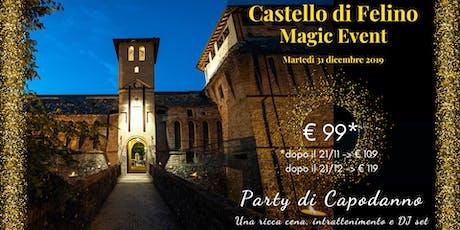Capodanno al Castello di Felino tickets