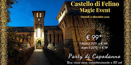 Capodanno al Castello di Felino biglietti