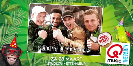 Qmusic the Party XL - 4uur FOUT! in Etten-Leur (Noord-Brabant) 28-03-2020 tickets