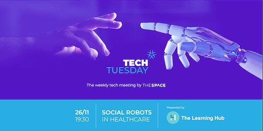 Tech Tuesday: Social Robots in Healthcare