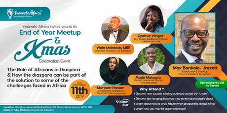 Innovate Africa End of Year Meetup & Xmas Celebration tickets