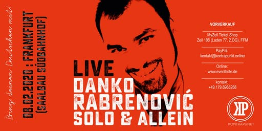 """Danko Rabrenović: """"Solo & Allein"""""""