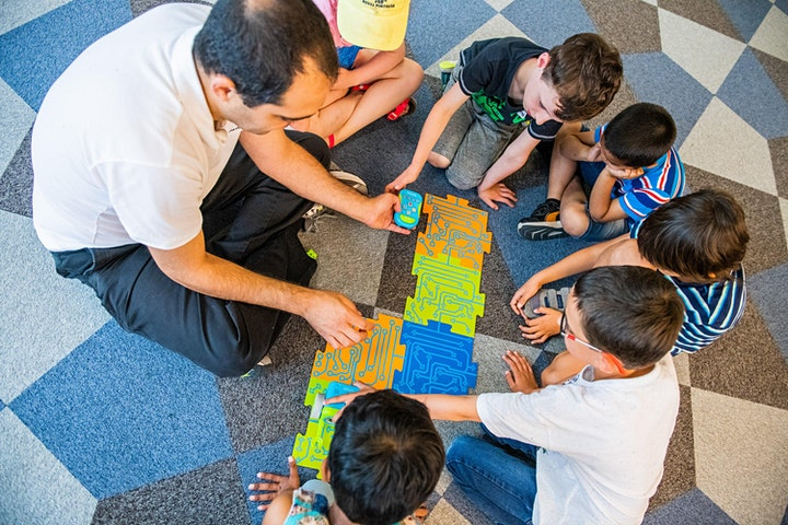 OPEN DAY-Having fun with games and robots! + 3 workshops within the event! image