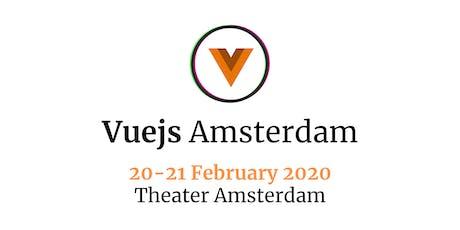 Vuejs Amsterdam 2020 tickets