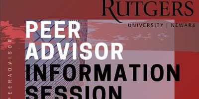 Peer Advisor Information Session