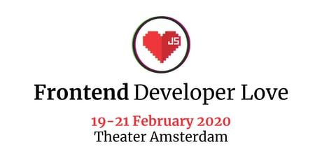 Frontend Developer Love 2020 tickets