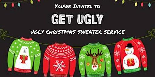 Ugly Christmas Sweater Christmas Eve Service