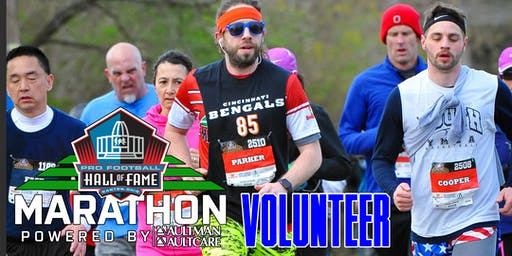 2020 Pro Football Hall of Fame Marathon - Volunteer