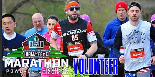 2020 Pro Football Hall of Fame Marathon - Volunteer