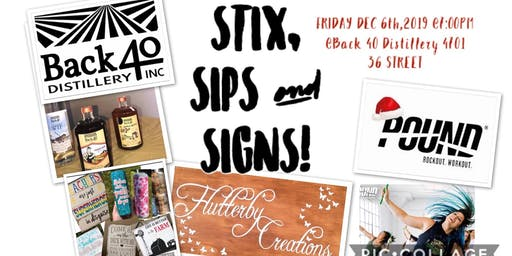 STIX, SIPS & SIGNS!