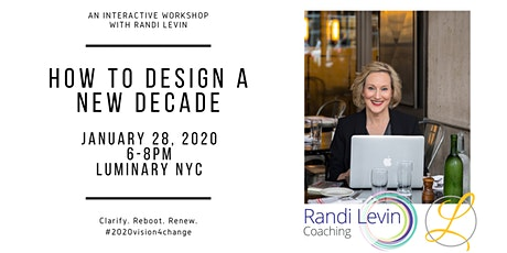 How to Design a New Decade tickets