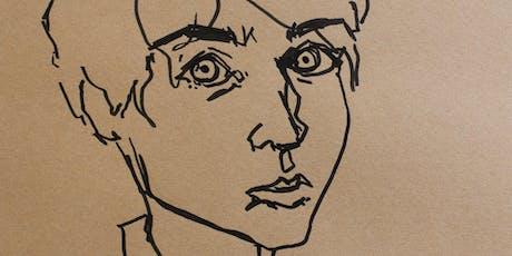 Line Drawn Portraiture Workshop tickets