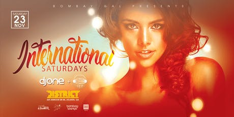 Bombay Lounge: International Saturdays | 11.23 tickets