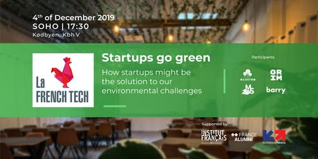 Startups go green - La French Tech tickets