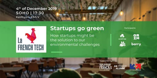Startups go green - La French Tech