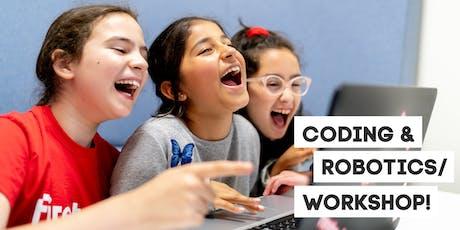 Coding & Robotics taster workshop for 9-12 year olds tickets