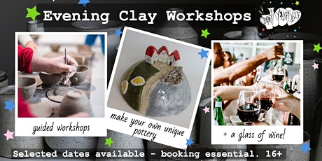 Postponed - Evening Clay Workshops tickets