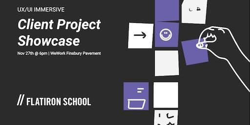 UX/UI Client Project Showcase | London