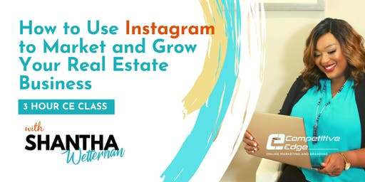 3 Hour CE: Growing Your Real Estate Business with Instagram